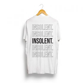 T-Shirt-INSOLENT-back-ligne-blanc