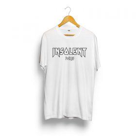 T-Shirt-INSOLENT-blanc-iron