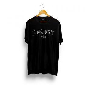 T-Shirt-INSOLENT-noir-iron